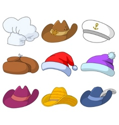 Hats set vector