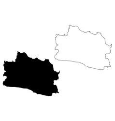 West java map vector