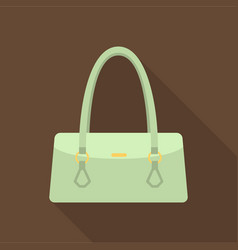 women bag icon of for web and vector image