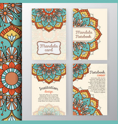 intage invitation and background design vector image vector image