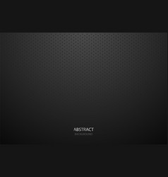 Black metal background with light vector