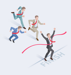 Business people concepts for success vector