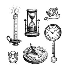 Different types clocks vector
