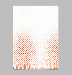 geometrical dot pattern page background - design vector image