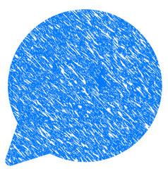 hint balloon grunge icon vector image