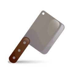 knife cleaver vector image