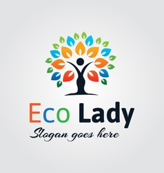 Natural Logo vector image