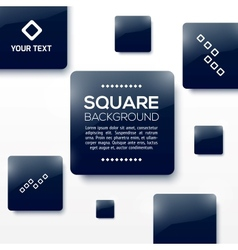 Design Squares Concept vector image vector image