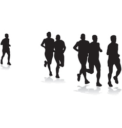 joggers vector image vector image