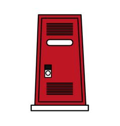 locker vector image