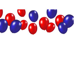 balloons background on a white vector image vector image