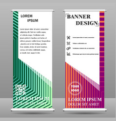 abstract background banner vector image