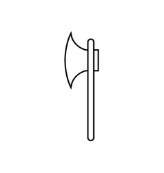 ax icon vector image