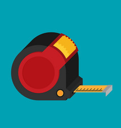 construction roulette icon in flat style vector image