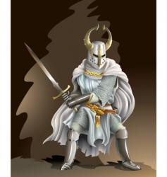 crusader vector image