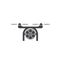 drone photo logo designs inspiration isolated on vector image