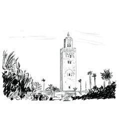 Marocco vector