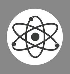 molecule laboratory chemistry dark design vector image vector image