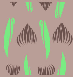 Tribal hand drawn background ethnic pattern boho vector