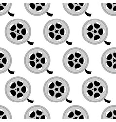 Reel with film pattern vector