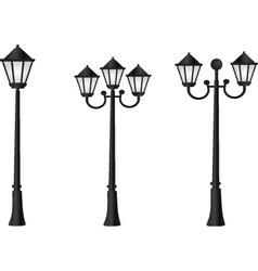 street light vector image vector image