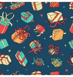 Pattern Gifts vector image