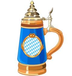 Oktoberfest Mug vector image