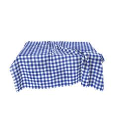 a checkered tablecloth vector image
