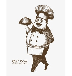 Chef cook vector