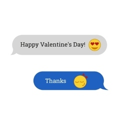 Congratulations to Valentines Day vector image
