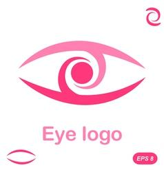 Eye logo conception vector