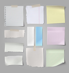 paper and post set vector image