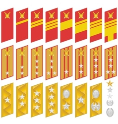 Insignia of the Army of Korea vector image