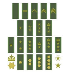 Insignia of the Swedish army vector image