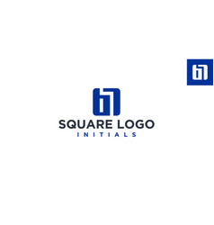 B or br square logo design inspiration vector