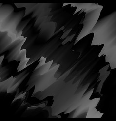 black glitch background vector image