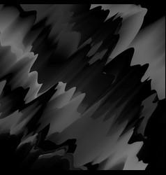 Black glitch background vector