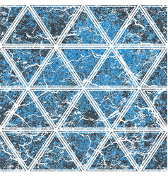 blue color seamless stone tile vector image