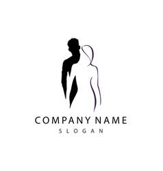 Couple logo vector