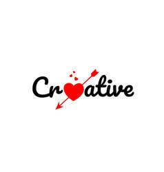 Creative word text typography design logo icon vector