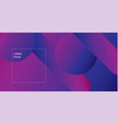 geometric background eps10 vector image