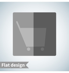 Icon flat element design vector image