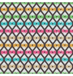 Ikat seamless pattern vector