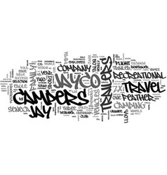 Jayco campers text background word cloud concept vector