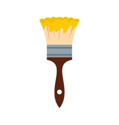 Paint brush icon flat style vector