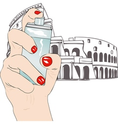 Perfume of Rome vector image