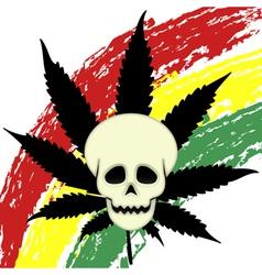 Eager marijuana vector image vector image