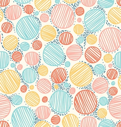 Color dotted pattern vector image vector image