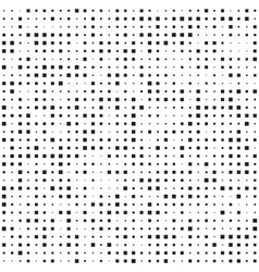 Abstract seamless patterns with squares vector image