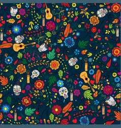 Floral garden holiday for day of the vector